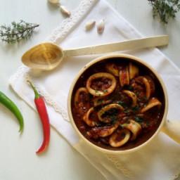 Mediterranean Calamari Stew
