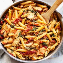 Mediterranean Chicken Pasta