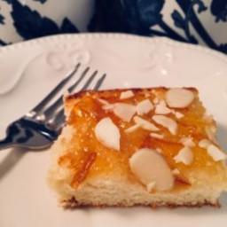 Mediterranean Orange and Almond Honey Cake