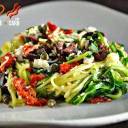 Mediterranean Pasta – Low Carb, Gluten Free, Primal