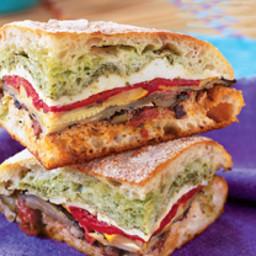 Mediterranean Pressed Picnic Sandwich