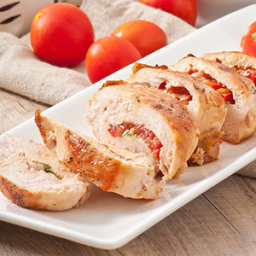Mediterranean Stuffed Chicken Breast