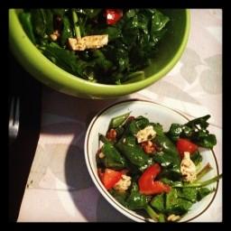 Mediterranean Tofu Salad