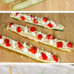 Mediterranean Cucumber Roll Ups Recipe