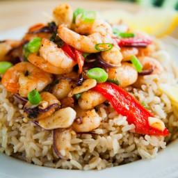 Mediterranean Shrimp & Rice