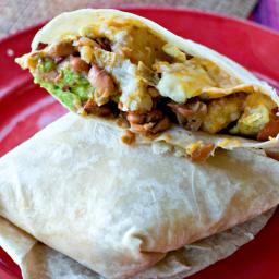 MEGA Breakfast Burrito Recipe