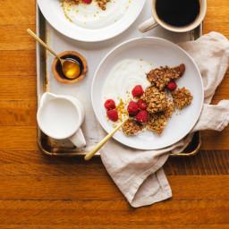Mega Clump Granola + The First Mess Cookbook