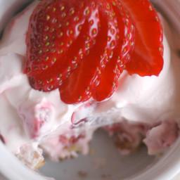 Melissa's No-Bake Strawberry Cheesecake