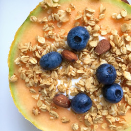 Melon Breakfast Bowl