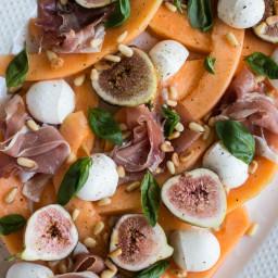 Melon, Fig, and Prosciutto Salad
