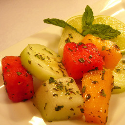 Melon Mint Salad