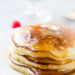 Melt in Your Mouth Sour Cream Pancakes
