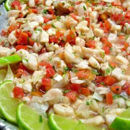 Memo's Shrimp Ceviche