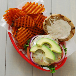 Mesquite Grilled Turkey Burgers
