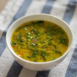 Methi Dal Recipe, How to make Methi Dal