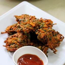 Methi Pakoda Recipe(Pakora), Methi Bhajiya