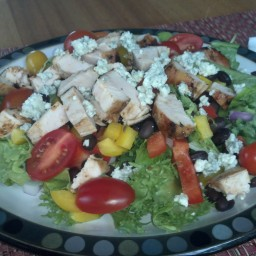 Mex inspired Chicken Salad