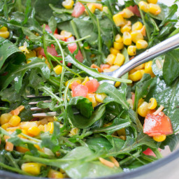 Mexican Arugula Corn Salad