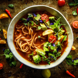 Mexican Chicken Noodle Soup- Gluten Free