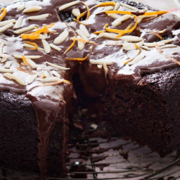 Mexican chocolate cake (vegan)