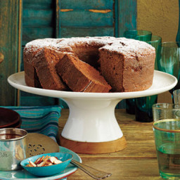 Mexican Chocolate Pound Cake
