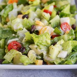 Mexican Chopped Salad with Cilantro-Lime Vinaigrette