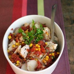 Mexican Cod and Potato Stew