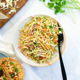 Mexican Coleslaw Recipe (No Mayo!) – A Couple Cooks