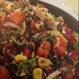 Mexican Corn And Red Kidney Bean Salad