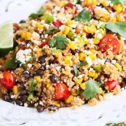 Mexican Corn Quinoa Salad