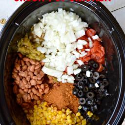 Mexican Cream Cheese Crock Pot Chicken