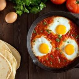 Mexican Fried Eggs and Salsa