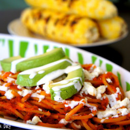 Mexican Pasta with Chorizo
