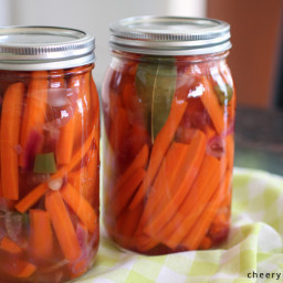Mexican Pickled Carrots