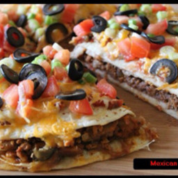 Mexican Pizza - Main Dish