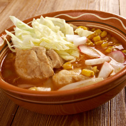 Mexican Pork and Hominy Stew (Pozole)