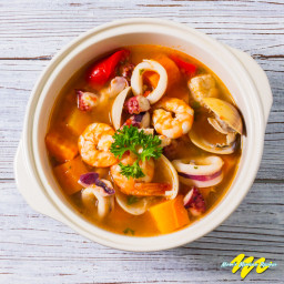 Mexican Seafood Soup