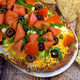 Mexican Seven-Layer Dip--From BHG