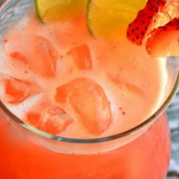 Mexican Strawberry Water (Agua de Fresa)