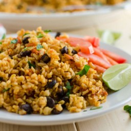 Mexican-Style Tomato Brown Rice