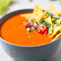 Mexican-Style Tomato Soup