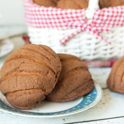 Mexican Sweet Bread - Conchas