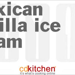 Mexican Vanilla Ice Cream