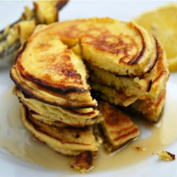 Meyer Lemon and Ricotta Pancakes