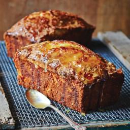Meyer Lemon-Coconut Pound Cake with Lemon Glaze