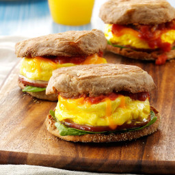 Microwave Egg Sandwich Recipe