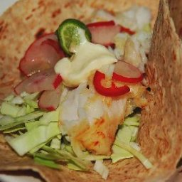 Microwave- Mexican Fish Tacos