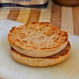 Microwave English Muffin (Paleo, Vegan, Gluten Free)