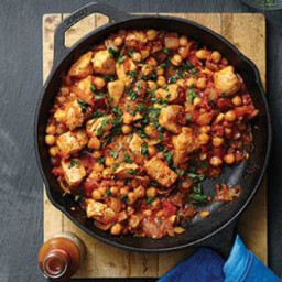 Middle Eastern Chicken and Chickpea Stew