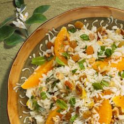 Middle Eastern Orange Mint Rice